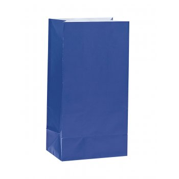 Paper Treat Bag Royal Blue (12)