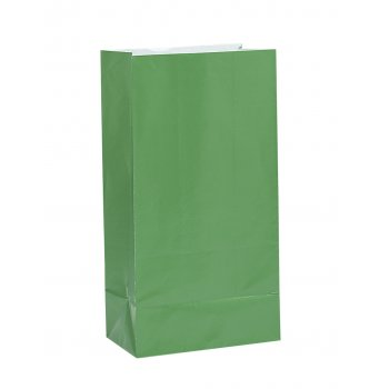 Paper Treat Bag Green (12)