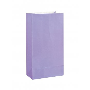 Paper Treat Bag Lavender (12)