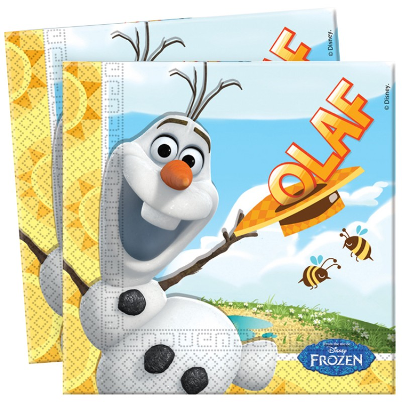 Olaf Lunch Napkins (12)