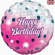 18 inch Foil Birthday Glitter Ball