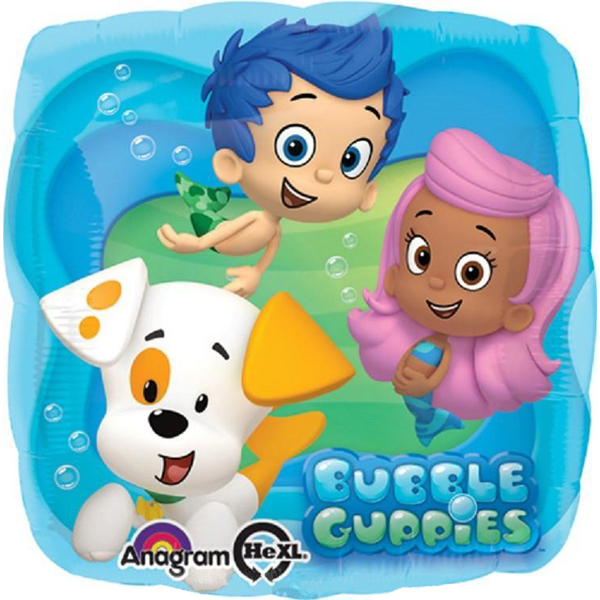 Bubble Guppies 18 inch foil balloon (1)
