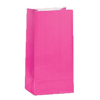 Paper Treat Bag Hot Pink (12)