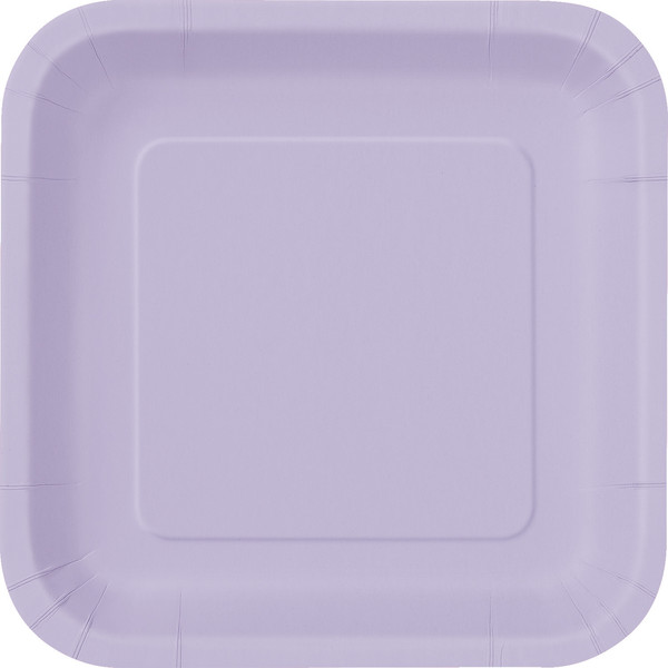 Lavender Square Dinner Plate (14)