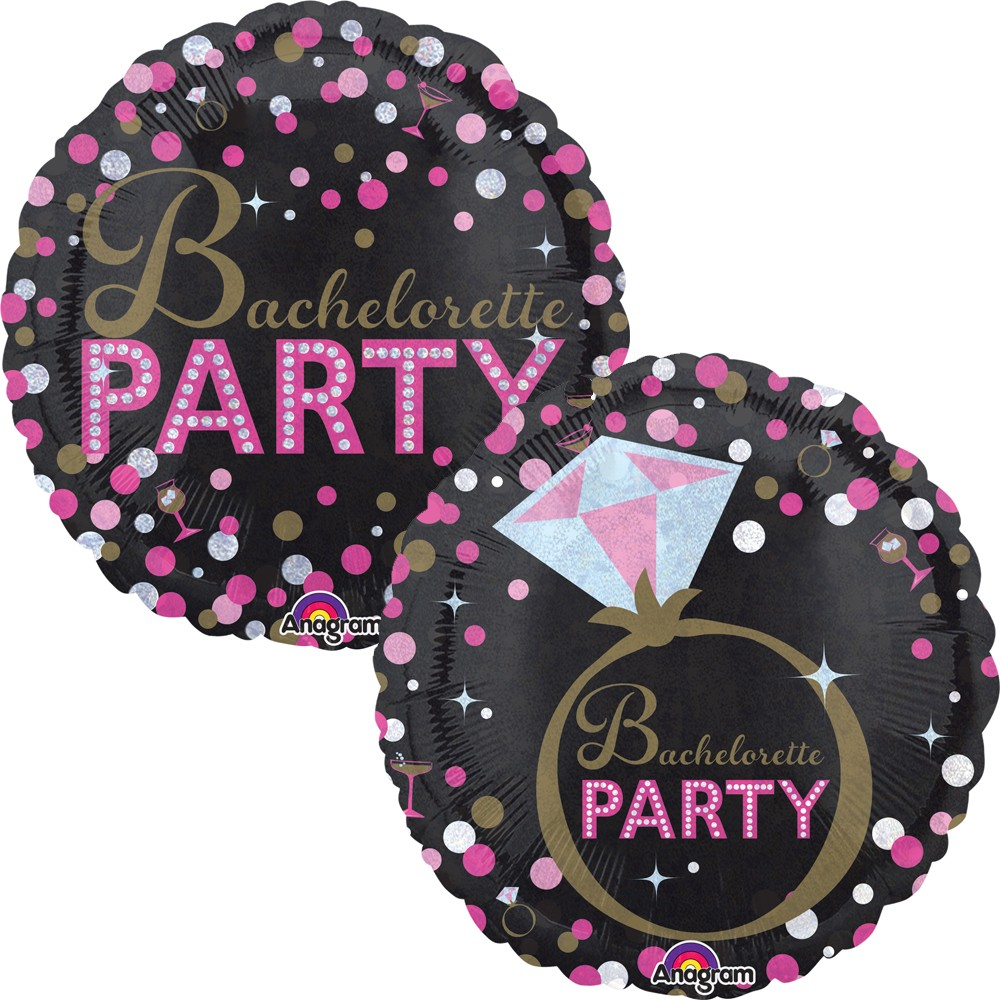 Bachelorette Party 18 inch Foil Balloon (1)