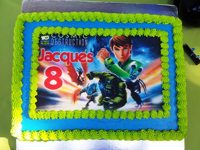 Ben 10 Picture Cake (1)