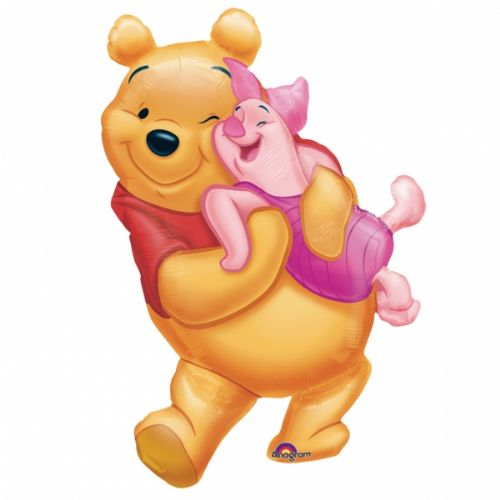 Big Pooh Hug Super Shape Balloon 51cm x 81cm