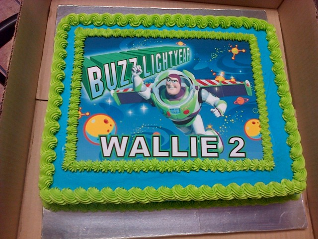 Buzz Lightyear Picture Cake (1) - B