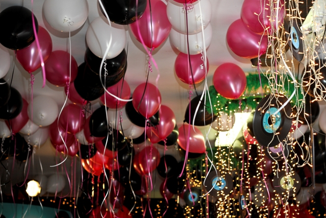 Ceiling Balloon Decor (C)