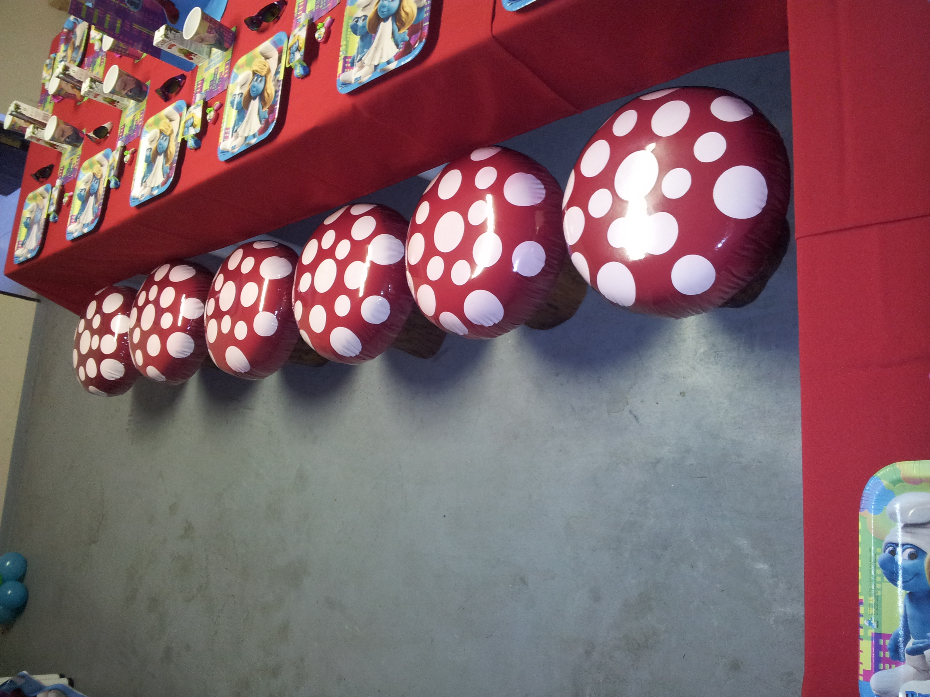 Toadstools to Rent R30.00 each