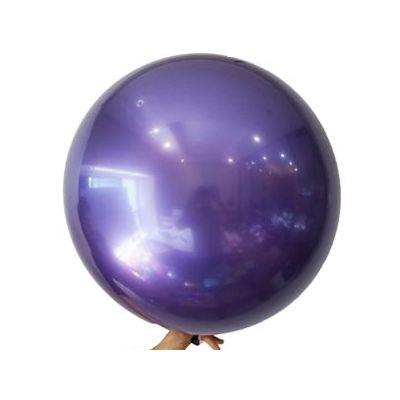 22 inch Purple Metallic Bobo