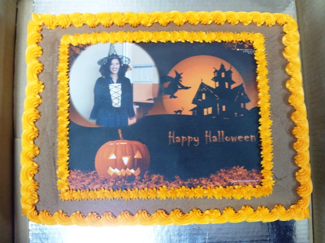 Holloween Picture Cake (1)
