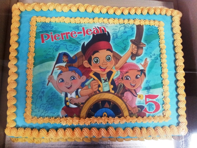 Jake and the Neverland Picture Cake (1)