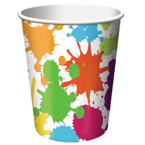 Art Party Cups (8 units)