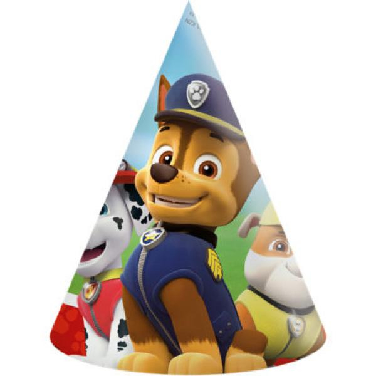 Paw Patrol Hats (6 units in a Pack)