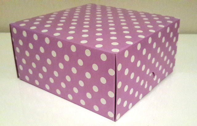 Square Polka Lavender with White Dot Box (1)
