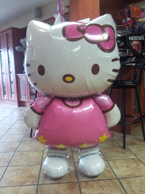 Super Shape Balloon Decor - Hello Kitty Airwalker