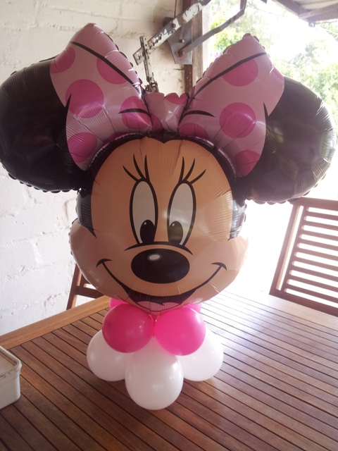 Super Shape Balloon Decor - Minnie Mouse Head