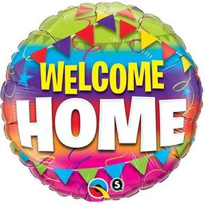 Welcome Home 18 inch Foil Balloon (46cm)