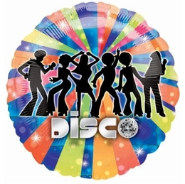 Disco Dancer 18 inch Foil Balloon(1)