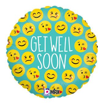 Emoticons Get Well Soon (43cm)