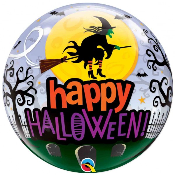 22inch Single Bubble Halloween Witch Haunting (1pc)