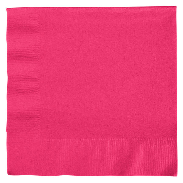 Hot Pink Lunch Napkins (20 count)