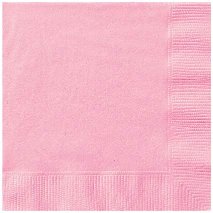 Pastel Pink Lunch Nakins (20 count)
