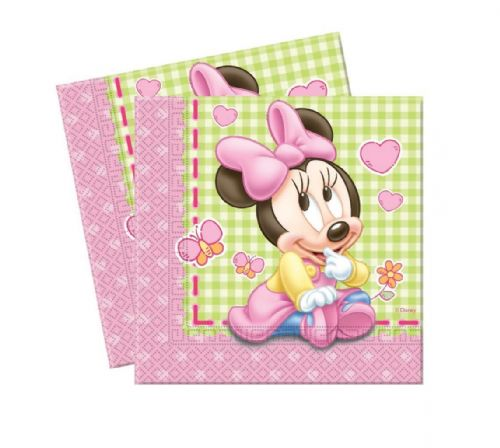 Minnie Baby Lunch Napkins (12)