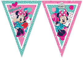 Minnie Mouse Flag Banner (1)