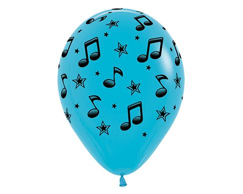 Music Latex Balloon (Available in Assorted Colours) (1)