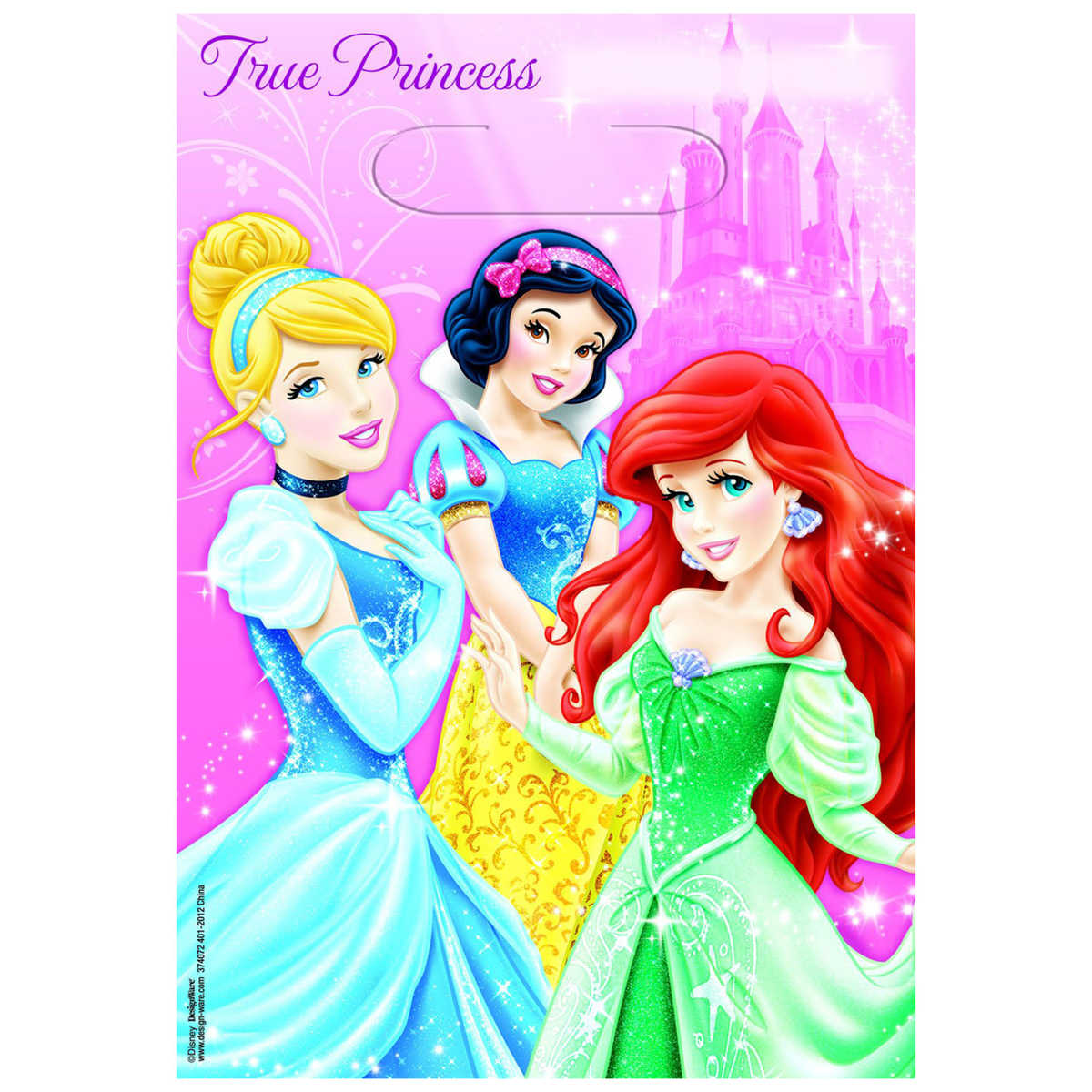 Disney Princess Party Bags (6 units)