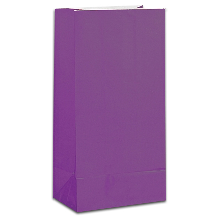 Paper Treat Bag Purple (12)
